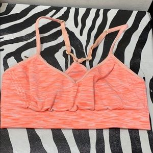 Pink Victoria secret ladies XS sports bra
